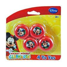 Mickey Mouse Mini Yo-Yos 4-pack