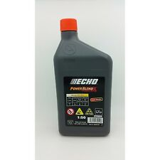 ECHO POWER BLEND X, 2 STROKE OIL - 1 LITRE, chainsaw engine oil