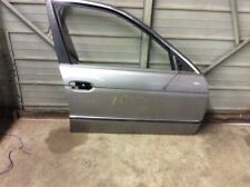 97 BMW 528I FRONT RIGHT PASSENGER DOOR SHELL | GRAY/SILVER
