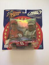 WINNERS CIRCLE #8 DALE EARNHARDT JR & SR NASCAR 1:43 SCALE  DOUBLE PLATINUM