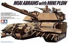 Tamiya M1 A1 Abrams Con Mine Plow ARADO DE MINA TANQUE PANZER 1 :3 5