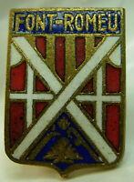 Font Romeu used Hat Lapel Pin Tie Tac HP1166