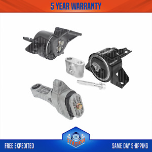 Transmission Mounts Front Right Rear Set 1.6L For Chevrolet Aveo G3
