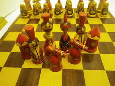 Chess Set, Vintage Made in Russia, Pre 1976