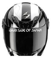 DARK SIDE OF JAPAN HELMET STICKER VISOR YAMAHA KAWASAKI SUZUKI HONDA