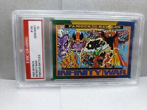 INFINITY WAR  1993 SKYBOX  EMC GRADED 10 GREAT CARD ! NEW MOVIE SOON!
