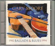 CD ALBUM   GARY MOORE *1982 BALLADS & BLUES 1994*