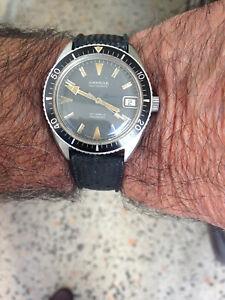 "Vintage Diver "" SANDOZ "" - Diam. 36,5 mm - anni 60"