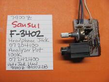 SANSUI F-3402 HEADPHONE JACK ANALYZER LEVEL POT 7900Z STEREO RECEIVER