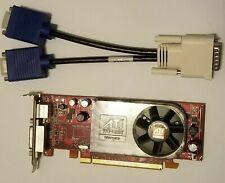 Dell Optiplex SFF SLIM 755 760 780 360 380 Dual VGA Monitor Video Card PCI-e x16
