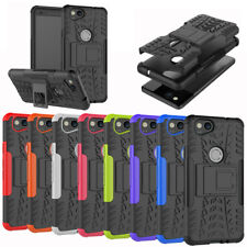 For Google Pixel 2 / 2XL Case Rugged Armor Protective Phone Cover with Kickstand