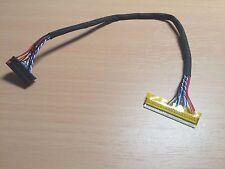 24.5cm FIX-30P-D6 30 Pin 6 Bit Generic Driver Board Cable For LCD Controller