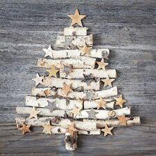 5  x   Paper Party Christmas Birch Tree Decoupage Napkin Art