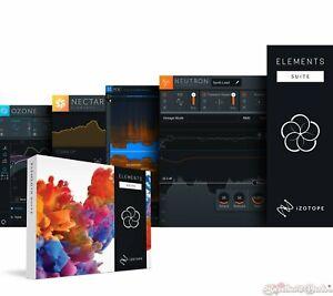 iZotope Elements Suite 5 Software Bundle w/ Nectar, Neutron, Ozone & RX Download