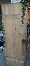 kleine alte Holztüre Schranktüre antik Naturholz super auch als Tischplatte