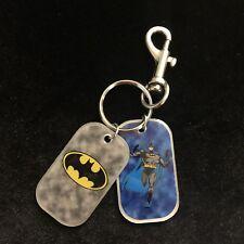 Batman Keychain 2 Charms 2000 DC Comics Superhero