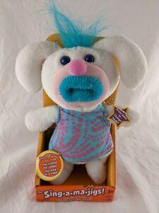 Sing-a-ma-jiga! Stuffed Plush Fisher Price Mattel White Bunny In Original Box