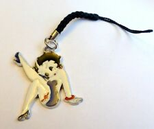 High Kicking Purple Dress Betty Boop & Garter Charm Pendant for Bag/Mobile Phone
