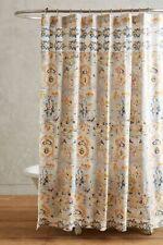 New Anthropologie Orissa Shower Curtain