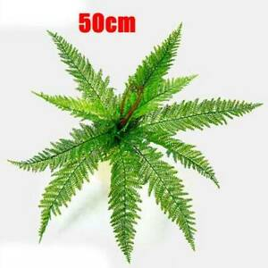 Artificial Greenery Persian Foliage Leaf Bush Home Wedding Arrangement #S04