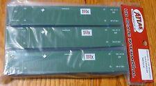 Atlas HO #20003009 CIMC 53' Cargo Container 3-Pack - Master(R) -- TMX Set #2