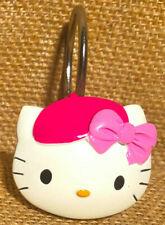 Hello Kitty Paris Shower Curtain Hooks 2008 Bonjour Collection Sanrio