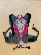 Ladies Mountain Warehouse Hydro Cycling Backpack in Grey and Pink