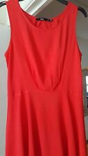 Cute Little Red Dress, Mini, Sleeveless, Fitted, Size 10, GC