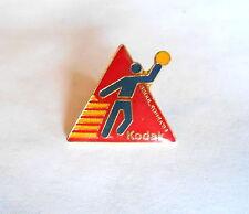 Cool Vintage 1988 Seoul Korea Olympics Volleyball Kodak Souvenir Pin Pinback