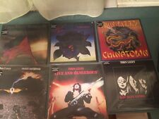 Thin Lizzy Limited Lp Record Album Lot Color Vinyl Oop SUPER RARE not cd NR! USA