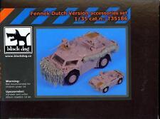 Blackdog Models 1/35 DUTCH FENNEK Light Recon Vehicle Resin Accessory Set