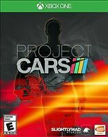 Project Cars (Microsoft Xbox One, 2015) NEW FACTORY SEALED FAST SHIP  BANDAI XB1