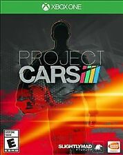 XBOX ONE PROJECT CARS - BRAND NEW - FREE 1ST CLASS SHIPPING WITH TRACKING