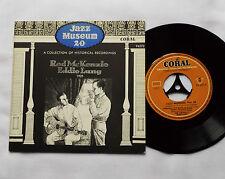 """Red McKENZIE/Eddie LANG 1925 - GERMANY 7"""" EP Jazz Museum 20 - CORAL 94270 -NMINT"""