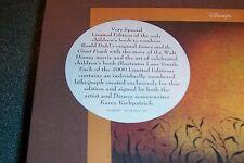 SEALED, SIGNED 2X; LTD James & the Giant Peach DAHL Disney Press, NEW 1st
