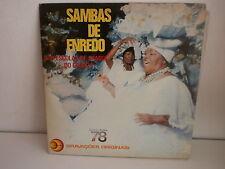 Sambas de enredo Das escolas de samba do grupo 1 Carnaval 78
