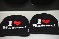 I Love Haters Beanie Cap DGK Blogger Last Kings Obey Tisa YMCMB Vintage New