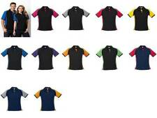Polyester Short Sleeve Polo Machine Washable Tops for Women