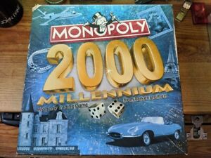 Monopoly 2000 Millennium Edition 100% Complete  Board Game Parker Brothers