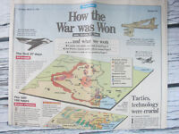 How the Gulf War Was Won Chicago Tribune News March 3 1991 Newspaper Section 2A
