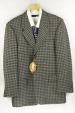 ITALIAN VINTAGE Mens TWEED Jacket SPORTS Blazer HOUND TOOTH CHECK 44 DN1RL