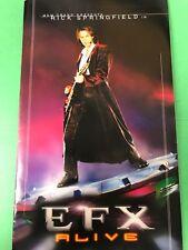 RICK SPRINGFIELD EFX Alive Souvenir brochure Las Vegas