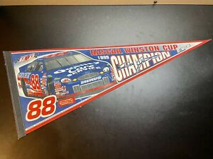 Vintage 1999 Nascar Winston Cup Dale Jarrett Champion Pennant - Made In USA