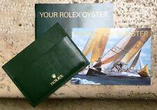 Rolex Full Set YM Yacht-Master ENG Card Holder Wallet Booklet - NOS