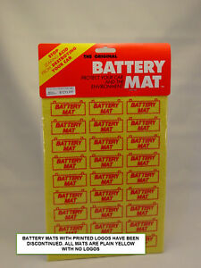 "BATTERY MAT ACID ABSORBER & NEUTRALIZER THE ORIGINAL ""BATTERY MAT"""