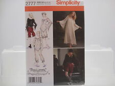 Simplicity 2777, Arkivestry Haunt Couture, Goth, Misses' Costume Sizes 6-12