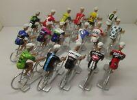 mark Cavendish cycling figurines set miniature Bahrain Sky Quebeca cervelo
