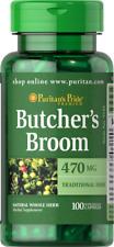 BUTCHER'S BROOM 470mg x100 Caps PURITANS PRIDE AMAZING PRICE 24hr DISPATCH