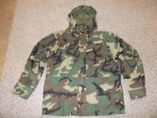 Military Large Regular Parka Cold Weather Field Jacket BDU Woodland Unisex #85