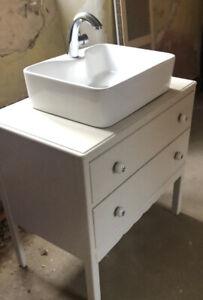 Bathroom / Utiiity Belfast Sink Unit - Vintage / Country